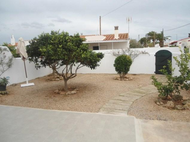 apartamento con jardin en venta en menorca