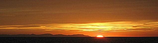 puesta sol menorca en menorca