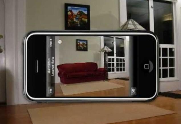 aplicación móvil decoración casa