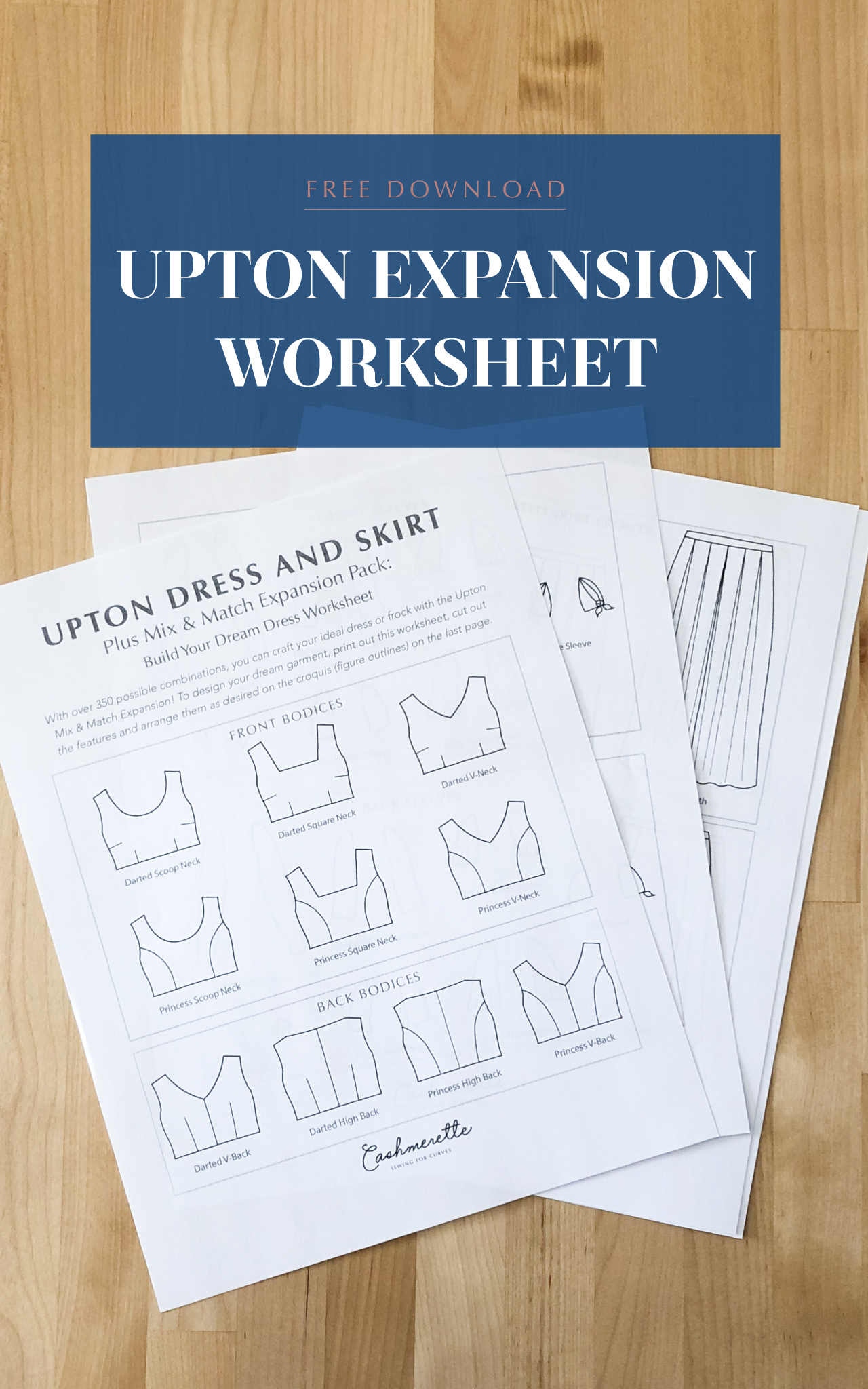 Download The Free Upton Mix Amp Match Expansion Worksheet