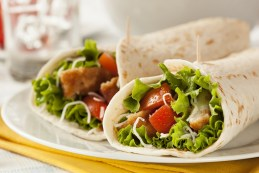 Chicken Tomato Wraps