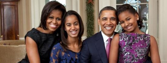 Michelle Obama & Family