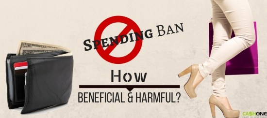 Spending ban