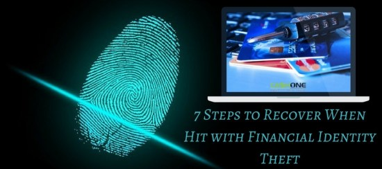 Steps to Recover When Hit with Financial Identity Theft
