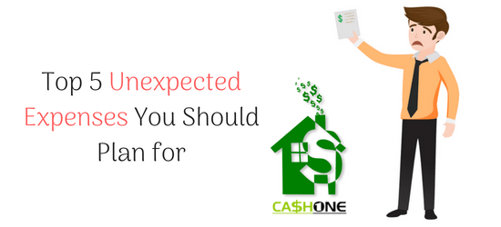 Top 5 Unexpected Expenses You Should Plan for