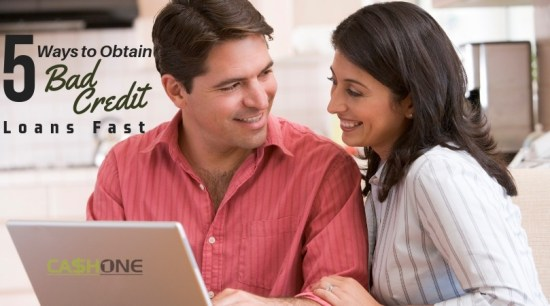 5 Ways to obtain Bad Credit loan fast
