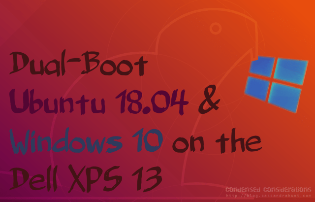 Dualboot Ubuntu and Windows