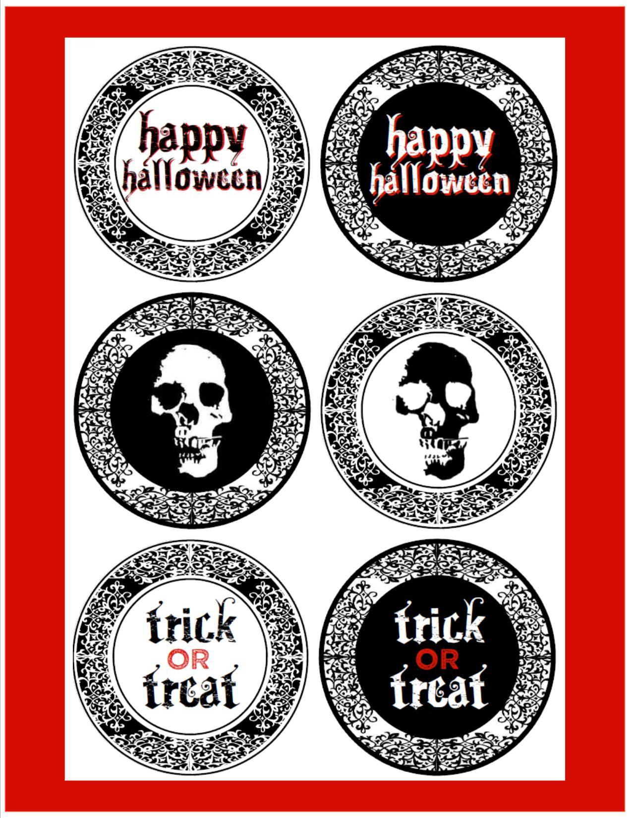 Free Creepy Halloween Printables