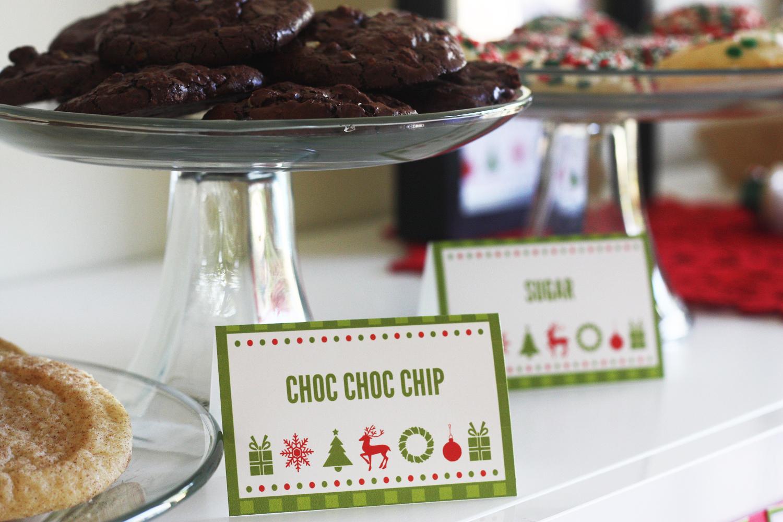 Free Cookies Amp Cocoa Christmas Printables