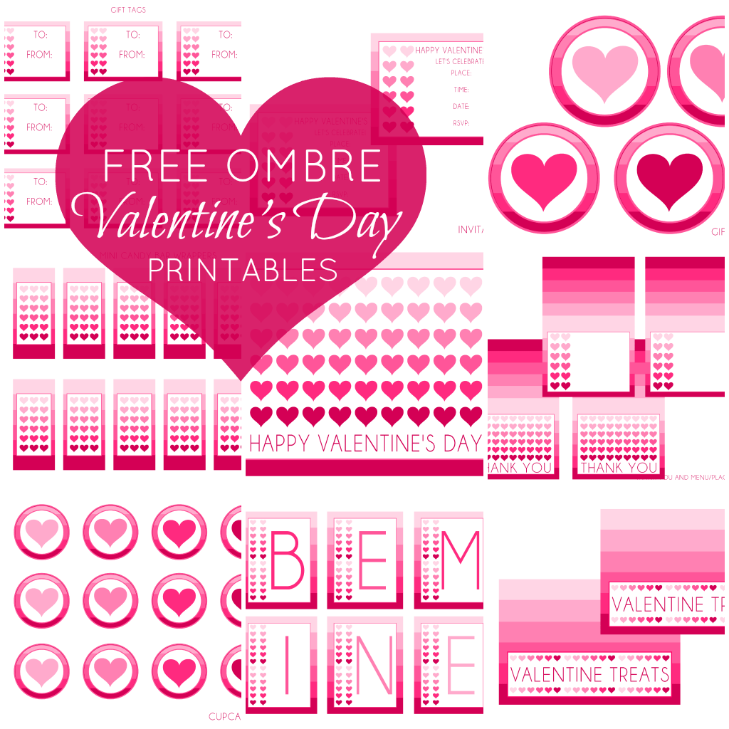 Free Valentine S Day Party Printables