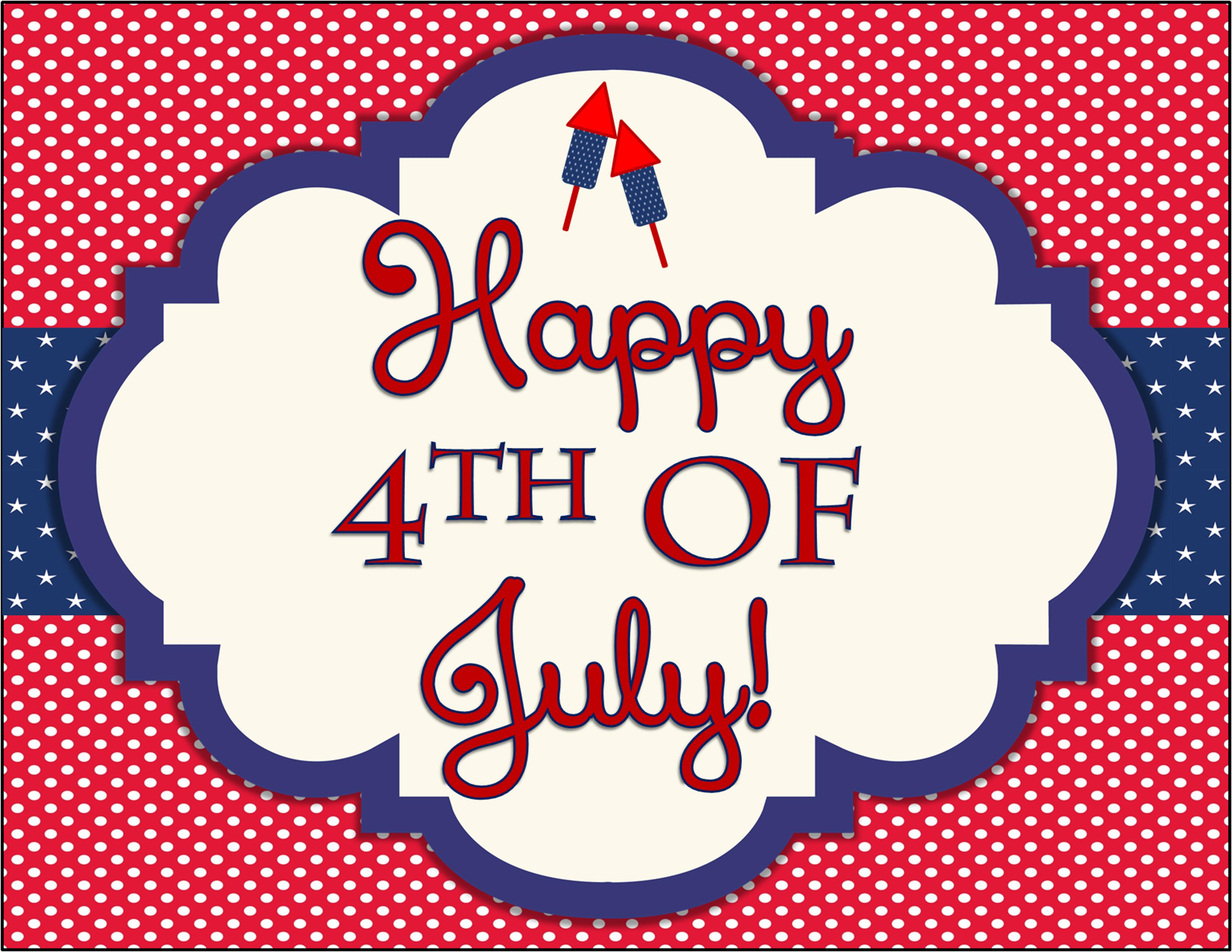 Free 4th Of July Party Printables By Designs By