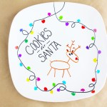 Santa Cookie Plate Diy Catch My Party