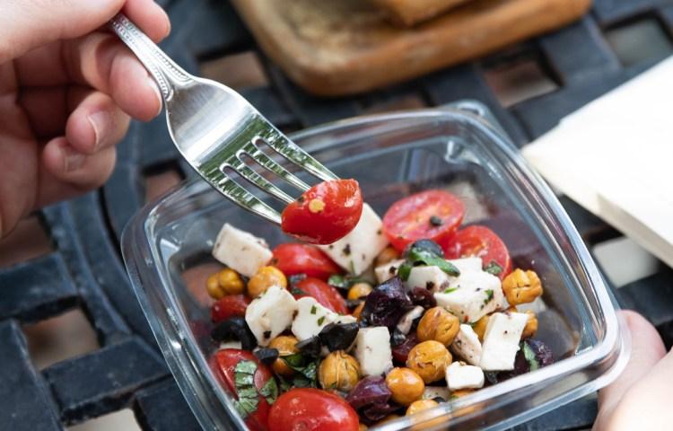 Tuscan Mozzarella Salad