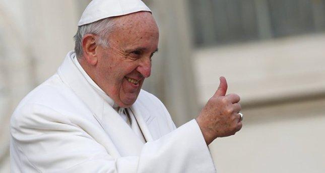 L'anti-Pape de la secte marrane Conciliaire François Ø