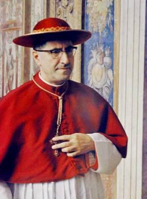 Cardinal Giuseppe Siri, 1958