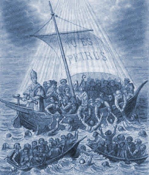 La Barque de Pierre (L'Église)