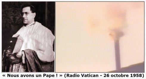 Habemus papam ! Cardinal SIRI, Pape Grégoire XVII