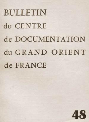 Bulletin du Grand-Orient n° 48