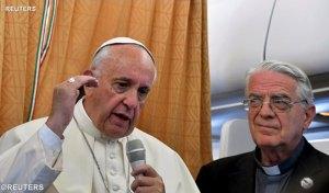 l'anti-Pape François répond aux journalistes