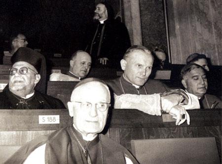 Karol Wojtyla au Concile Vatican II