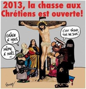 2013, la chasse aux chrétiens est ouverte !