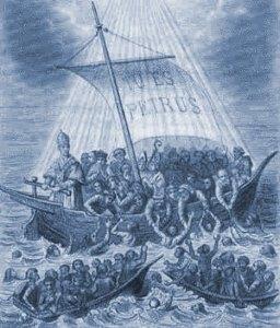 La Barque de Pierre, l'Église catholique.