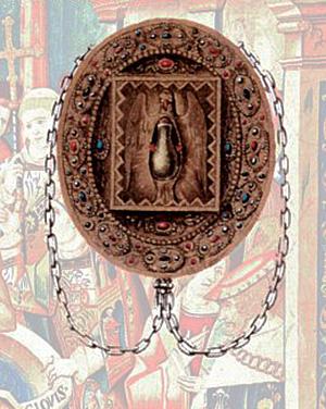 L'ancien reliquaire de la Sainte Ampoule