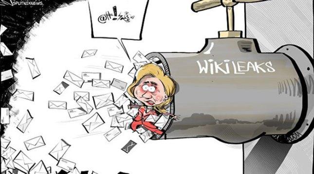 Révélation Wikileaks sur le camp Clinton