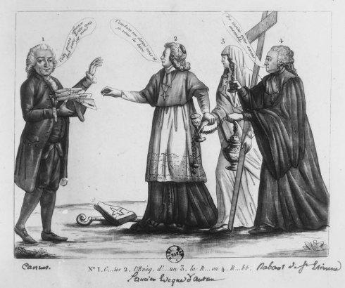 La Révolution et l'Église en 1791