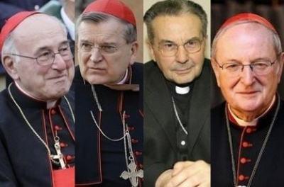 Quatre pseudo-cardinaux rendent publique une lettre à propos des ambiguïtés d'Amoris Laetitia