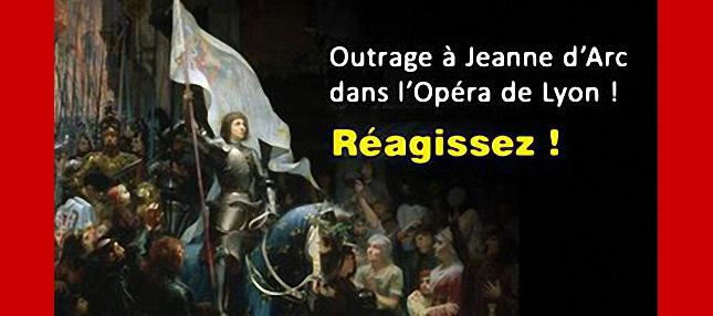 ALERTE : Scandale à l'Opéra National de Lyon !… <b>Jeanne d'Arc intégralement dénudée</b>
