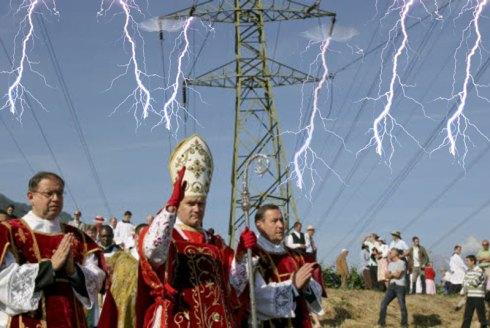 Bernard Fellay électrisant les foules d'Écône...