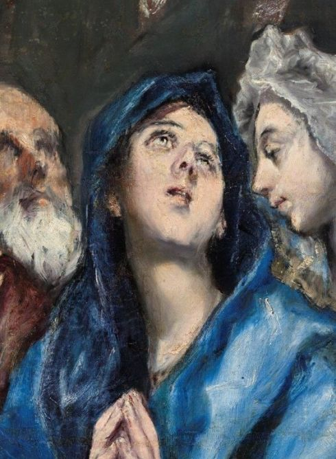 El Greco, detail