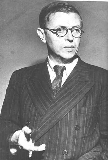 Jean- Paul Sartre, un philosophe engagé du 20e siècle.