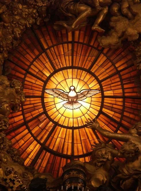 Le Saint-Esprit sous la forme d'une colombe (Gian Lorenzo Bernini)