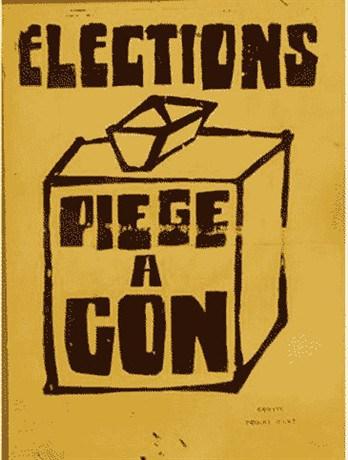 Élections, piège à cons...