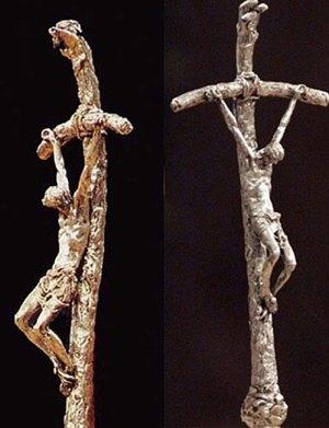 La ferula (ou bâton) « courbée » de Lello Scorzelli.