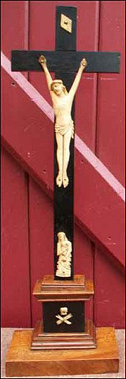 Crucifix d'Autel janséniste.