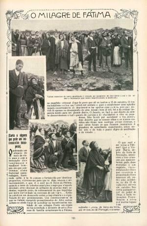 Compte rendu du miracle du soleil dans un journal portugais