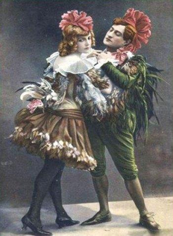 Ève Lavallière et Max Dearly
