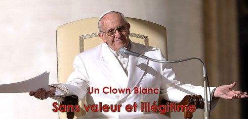 Un Clown Blanc illégitime !