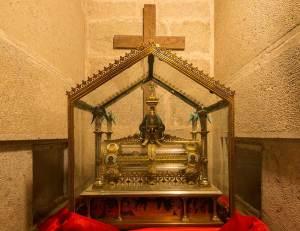 Le reliquaire de Sainte Marie-Madeleine