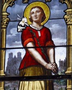 Jeanne martyr de la virginité