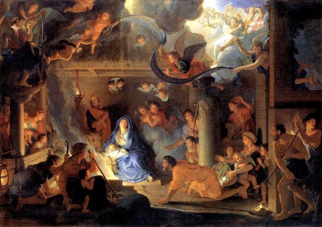 Charles le Brun : L'Adoration des bergers