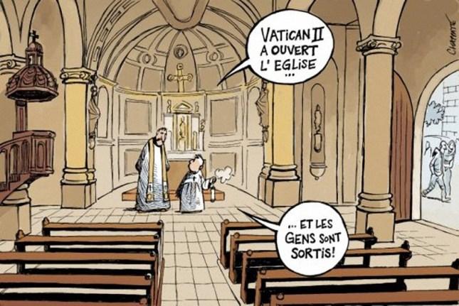 Vatican d'Eux a ouvert l'Église !...