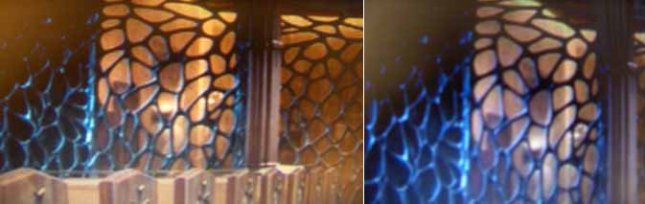 Dans la cathédrale de Chicago des toiles d'araignées en design de l'entrée arrière
