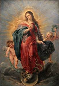 L'Immaculée Conception par Pierre Paul Rubens