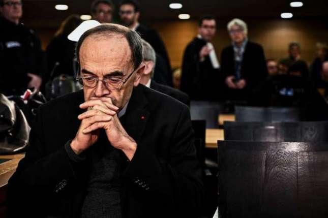 Philippe Barbarin l'Archelaïc français accusé de dissimulation d'abus sexuels…