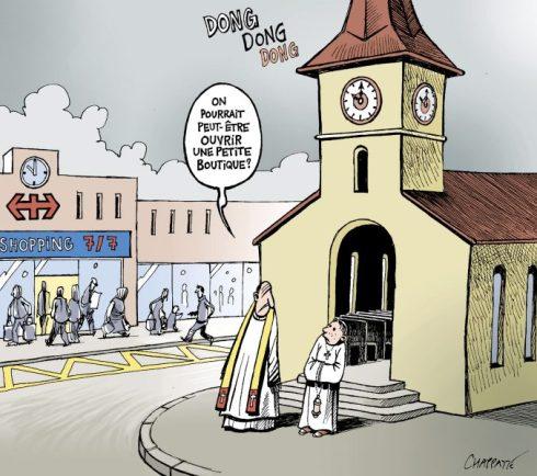 «Ma maison sera appelée maison de prière». Pourquoi donc en avez-vous fait une caverne de voleurs !