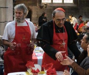 Le gnome ecclésiastico-œcuménique de Barbarin avec son cuisinier